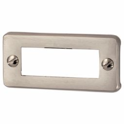 Porte-étiquette pour plaque de sonnette