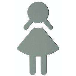 Symbole WC dames