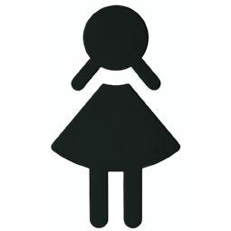 WC-Symbol Damen