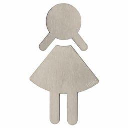 Simbolo WC donne