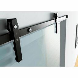 Garnitura per porta scorrevole in vetro Serie Charriot